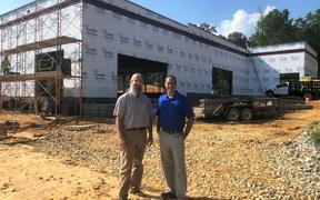 New brewery under construction in Powhatan