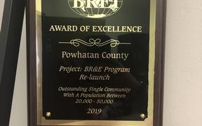 Powhatan Economic Development Wins BRE International Award
